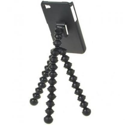 Flexible iPhone Tripod - кейс и трипод за iPhone 4/4S 2