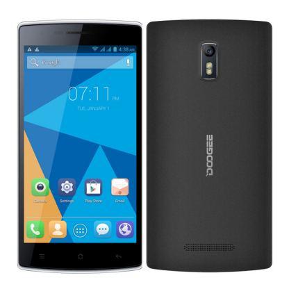 """DOOGEE KISSME, 5.5"""" Смартфон с две сим карти ,Андроид четириядрен процесор"""