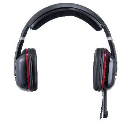 GX HS-G700V CAVIMANUS - Virtual 7.1 Channel Gaming Headset, 40mm neodymium driver units, gold-plated USB connector, vibration function, foldable microphone, 2.5m cable length  + подарък тениска GX 4