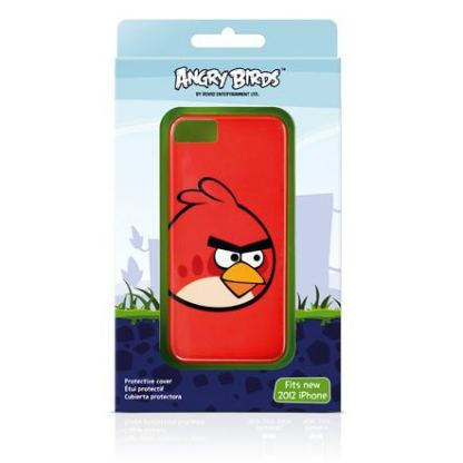 Gear4 Angry Birds Classic Red Bird - поликарбонатов кейс за iPhone 5 2