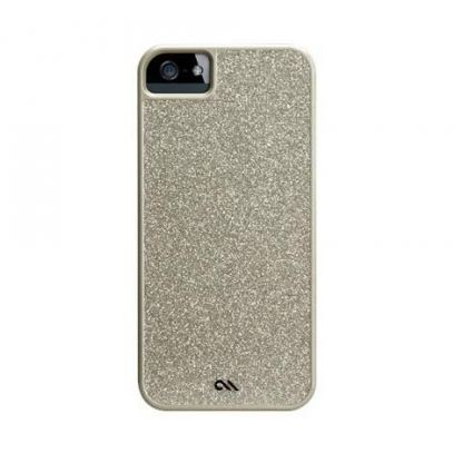 CaseMate Glam Snap On - поликарбонатов кейс за iPhone 5 (шампанско) 3