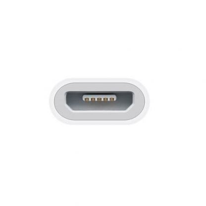 Apple Lightning to microUSB Adapter - оригинален адаптер за iPhone 5, iPod Touch 5, iPod Nano 7 3