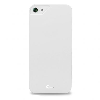 Pinlo Rubber Slice - поликарбонатов кейс за iPhone 5 (бял)