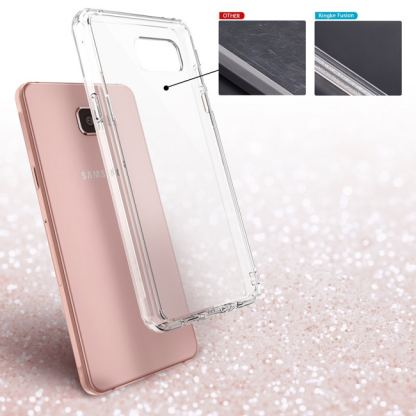 Ringke Noble Shine Case - кейс с кристали за Samsung Galaxy S6 Edge (прозрачен) 7