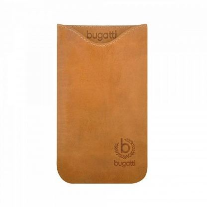 Bugatti Skinny XL Golden Summer - кожен калъф (естествена кожа) за Samsung Galaxy S3, HTC One X, Sensation XL и други