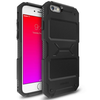 Ringke Armor Rebel - удароустойчив кейс за iPhone 6/6S Plus (черен)