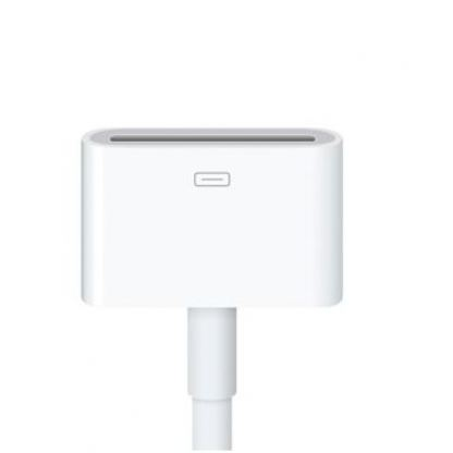 Apple Lightning to 30 pin Dock Connector (0.2м.) - оригинален адаптер за iPhone 5, iPod Touch 5, iPod Nano 7 3