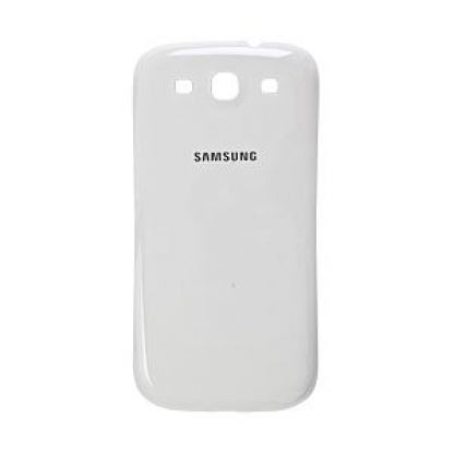 Samsung Batterycover - оригинален заден капак за Samsung Galaxy S3 i9300 (бял)