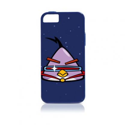 Gear4 Angry Birds Space Laze - поликарбонатов кейс за iPhone 5 (син)