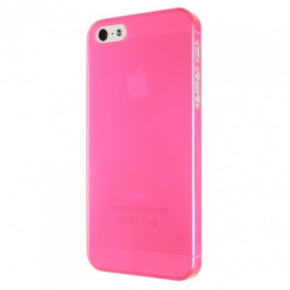 Artwizz SeeJacket® Clip Neon - поликарбонатов кейс за iPhone 5 (розов-прозрачен) 4