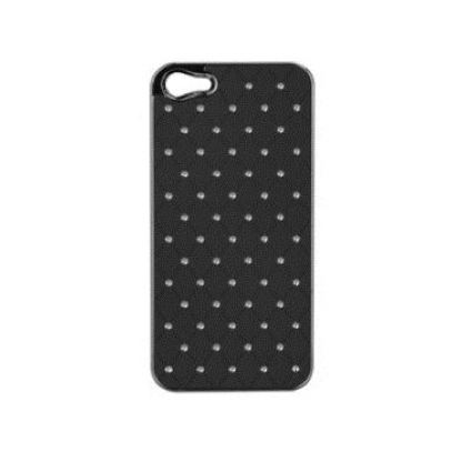 Trendy8 Bling Bling Case - кейс с кристали за iPhone 5 (черен)