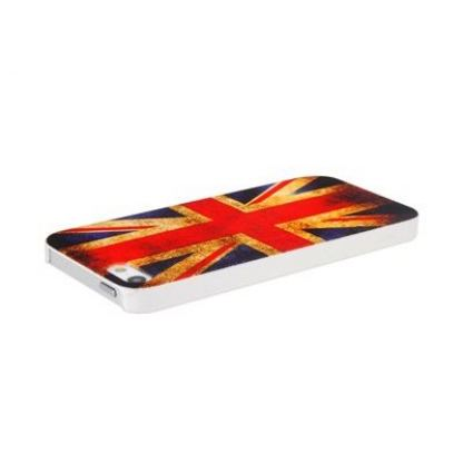Retro Style Faceplate UK - поликарбонатов кейс за iPhone 5 3