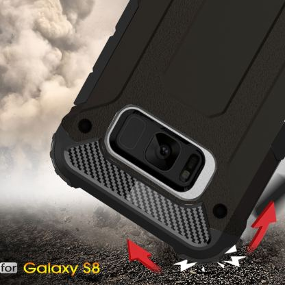 Forcell Tough Armor - удароустойчив кейс за Samsung Galaxy Note 8 (черен) 6