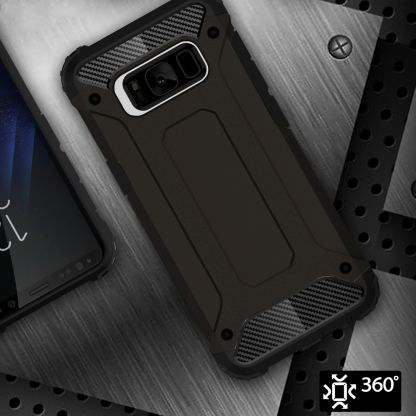 Forcell Tough Armor - удароустойчив кейс за Samsung Galaxy Note 8 (черен) 2
