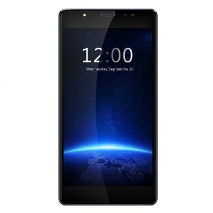 LEAGOO T1 Plus, 5.5 инча HD, 3GB RAM, 4-ядрен смартфон с 2 сим карти, Android 7, Цена (тъносив) 2