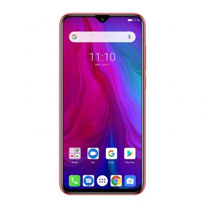 Ulefone Power 6, FHD+ 6.3 инча , 4GB+64GB памет, 8-ядрен, 6350 mAh батерия, Dual Sim, Android 9, Цена (червен) 6