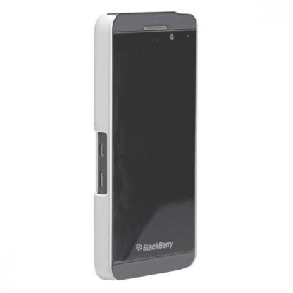 CaseMate Barely There - поликарбонатов кейс за Blackberry Z10 (бял) 5