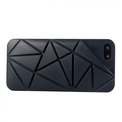 Urban Prefer Coin 4 Case - поликарбонатов кейс и поставка за iPhone 5 (черен) 3