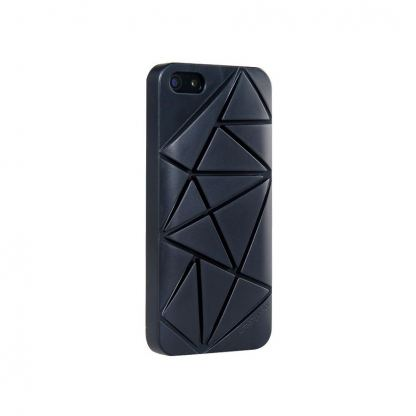 Urban Prefer Coin 4 Case - поликарбонатов кейс и поставка за iPhone 5 (черен)