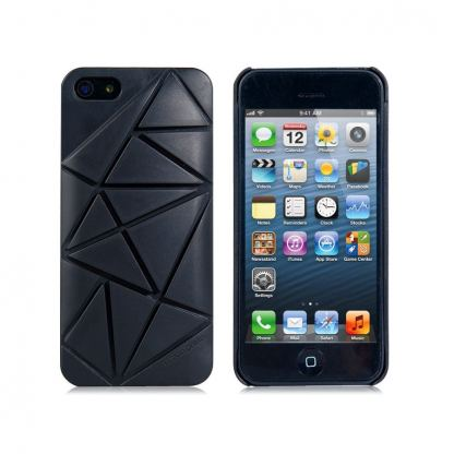 Urban Prefer Coin 4 Case - поликарбонатов кейс и поставка за iPhone 5 (черен) 2