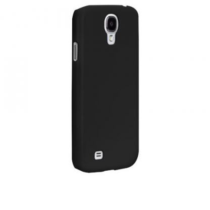 CaseMate Barely There - поликарбонатов кейс за Samsung Galaxy S4 i9500 (черен)