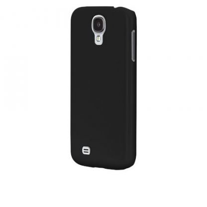 CaseMate Barely There - поликарбонатов кейс за Samsung Galaxy S4 i9500 (черен) 3
