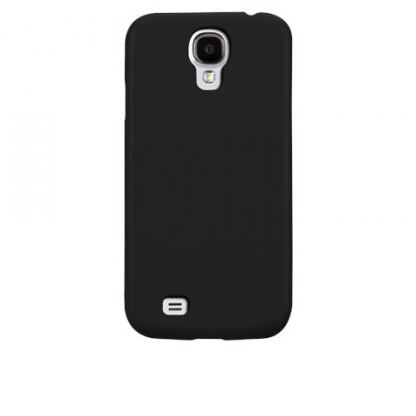 CaseMate Barely There - поликарбонатов кейс за Samsung Galaxy S4 i9500 (черен) 2