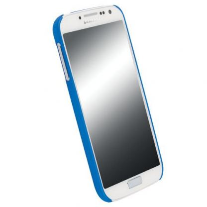 Krusell ColorCover - поликарбонатов кейс за Samsung Galaxy S4 i9500 (син) 2