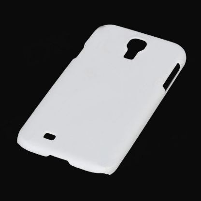 Protective Plastic Case - поликарбонатов кейс за Samsung Galaxy S4 i9500 (бял) 2