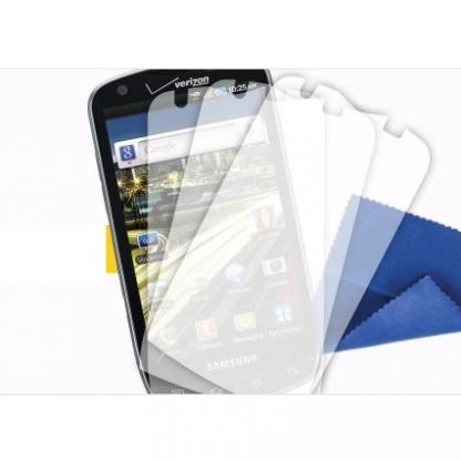 Griffin TotalGuard Antiglare Screen Protector - матово защитно покритие за Samsung Galaxy S4 i9500 (три броя)