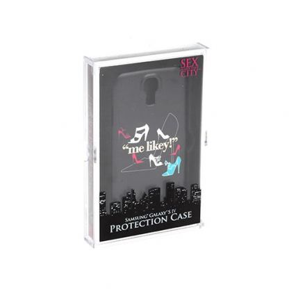TTAF Sex And The City Me Likey Gold Case - поликарбонатов кейс за Samsung Galaxy S4 i9500 (черен) 4