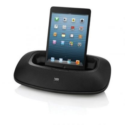 JBL OnBeat Mini LTE - спийкър с Lightning док за iPhone 5, iPad 4, iPad mini, iPod Touch 5 (черен)