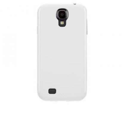 CaseMate Barely There - поликарбонатов кейс за Samsung Galaxy S4 i9500 (бял) 3