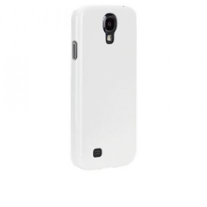 CaseMate Barely There - поликарбонатов кейс за Samsung Galaxy S4 i9500 (бял) 2