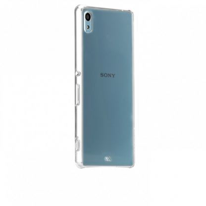 CaseMate Barely There - поликарбонатов кейс за Sony Xperia Z3+ (прозрачен)  2