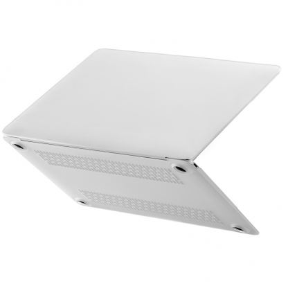 Comma Frosted Protective Full Shell Case - матиран предпазен кейс за MacBook Pro 12 (прозрачен-мат) 2