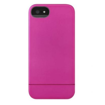 InCase Slider Case - поликарбонатов кейс за iPhone 5, iPhone 5S (розов)