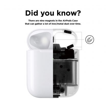 Elago AirPods Dust Guard - комплект метални предпазители против прах за Apple Airpods 2 with Wireless Charging Case (розово злато) 2