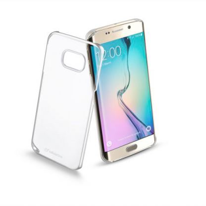 Прозрачен твърд кейс Cellular Line за Samsung Galaxy S6 edge Plus