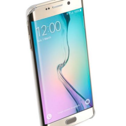 Прозрачен твърд кейс Cellular Line за Samsung Galaxy S6 edge Plus 4