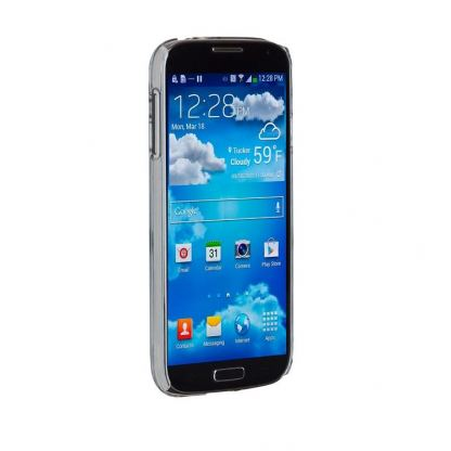 CaseMate Barely There - поликарбонатов кейс за Samsung Galaxy S4 i9500 (прозрачен) 2