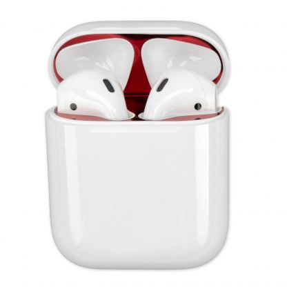 4smarts Dust Protector Foil - защитно фолио против прах за Apple Airpods и Apple Airpods 2 (red) 3