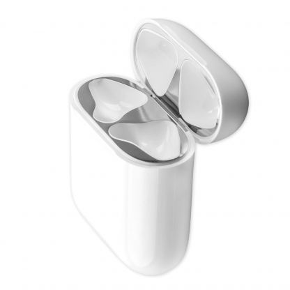 4smarts Dust Protector Foil - защитно фолио против прах за Apple Airpods и Apple Airpods 2 (сребрист)