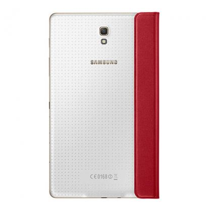 Samsung Simple Cover EF-DT700 - оригинално кожено покритие за Samsung Galaxy Tab S 8.4 (червен) 3