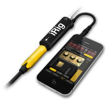 IK Multimedia AmpliTube iRig - адаптер за китари за iOS устройства 2
