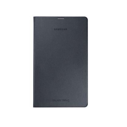 Samsung Simple Cover EF-DT700 - оригинално кожено покритие за Samsung Galaxy Tab S 8.4 (черен)