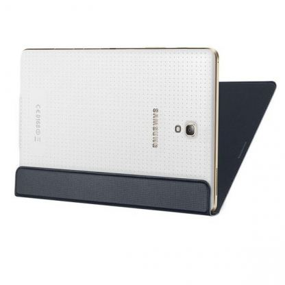 Samsung Simple Cover EF-DT700 - оригинално кожено покритие за Samsung Galaxy Tab S 8.4 (черен) 3