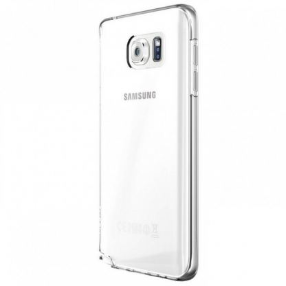 Skech Crystal Case - силиконов TPU калъф за Samsung Galaxy Note 5 (прозрачен) 3