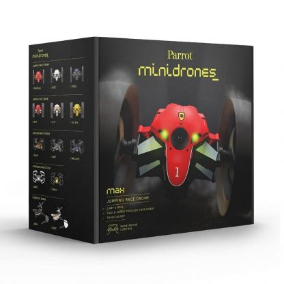 Parrot Minidrones Jumping Race Drone Max - мини дрон управляван от iOS, Android или Windows Mobile (черен) 3