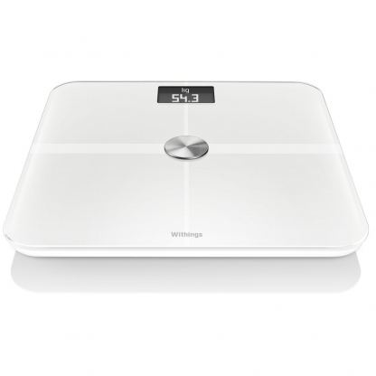 Withings Smart Wireless Body Analysis Scale - безжичен кантар с приложение за iPhone, iPad и iPod и Android (бял)